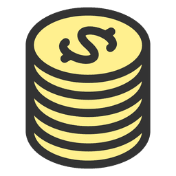 Bag of money illustration vector download for Transparent piggy bank money box