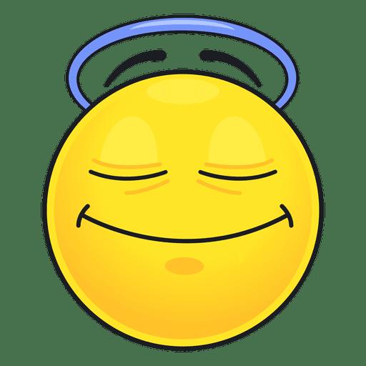 Emoticon lindo angel Transparent PNG