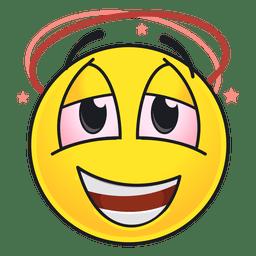Süßer betrunkener Emoticon