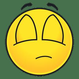 Emoticon bonito dos olhos fechados