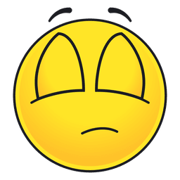 Ojos lindos cerrados emoticon