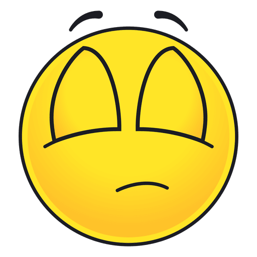 Cute eyes closed emoticon Transparent PNG