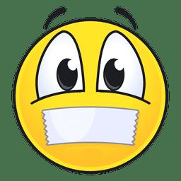 Lindo diseño de emoticonos sellados