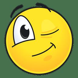 Lindo emoticono guiño