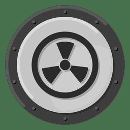 Nukleare Warnung