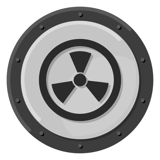 Nuclear warning Transparent PNG