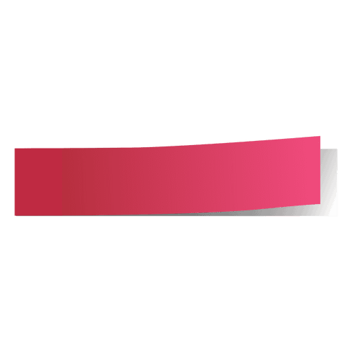 Pink post it page marker