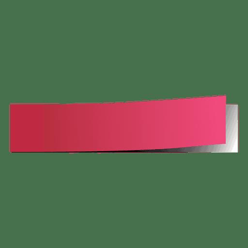 Rosa Post-It-Seitenmarkierung Transparent PNG