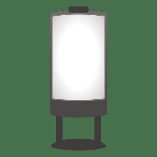 Placa de publicidade ao ar livre branco Transparent PNG