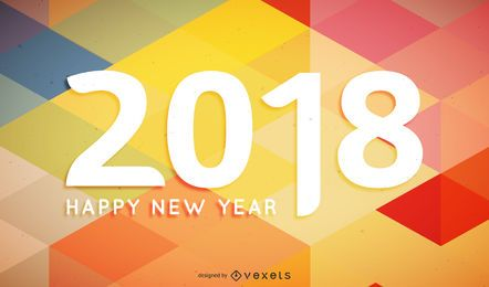 Cartel poligonal 2018 cartel