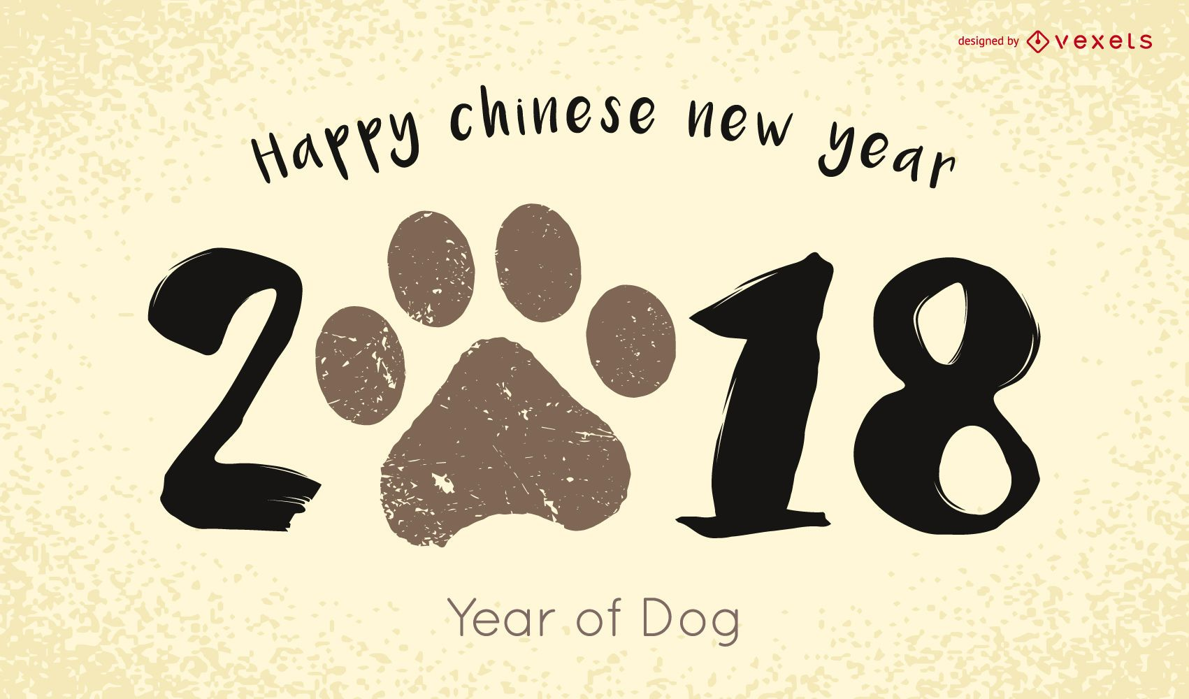 2018 Chinese New Year Vector Download