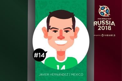 Javier Hernandez character cartoon