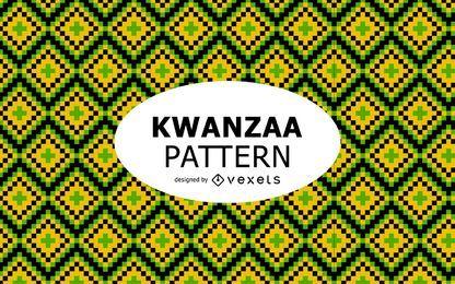 Stammes-Kwanzaa-Musterdesign
