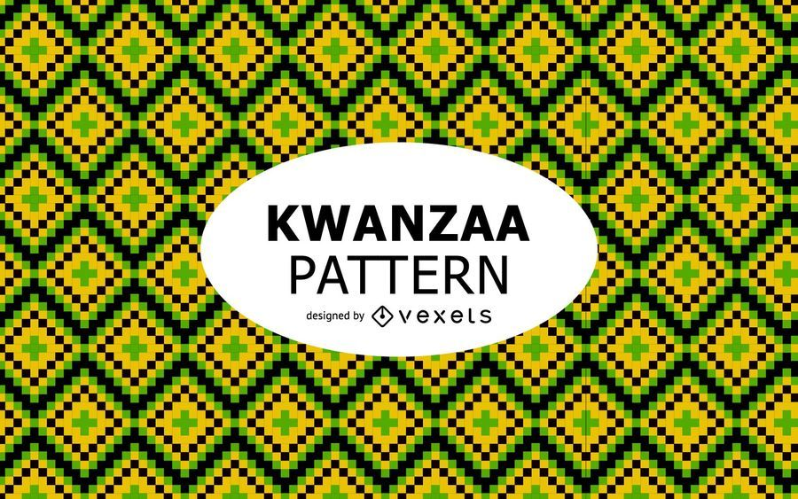 Tribal Kwanzaa pattern design