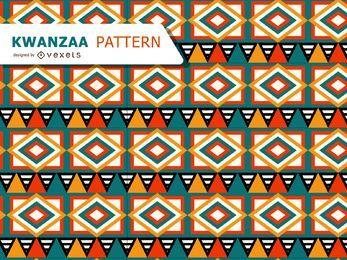 Patrón tribal para Kwanzaa.