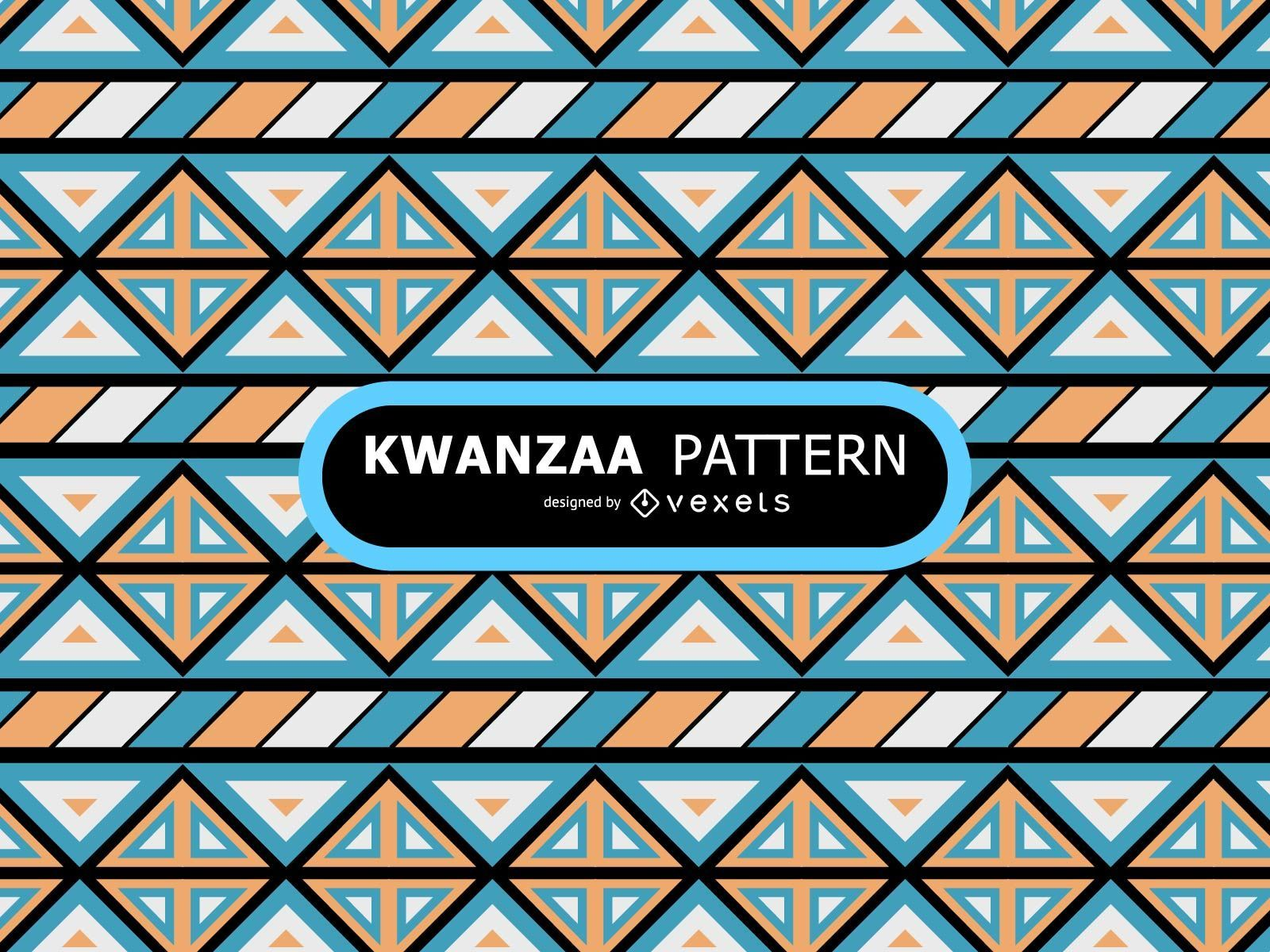 Ethnic tribal pattern design