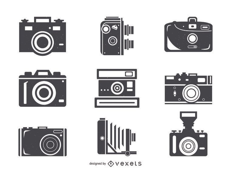 Big camera icon collection