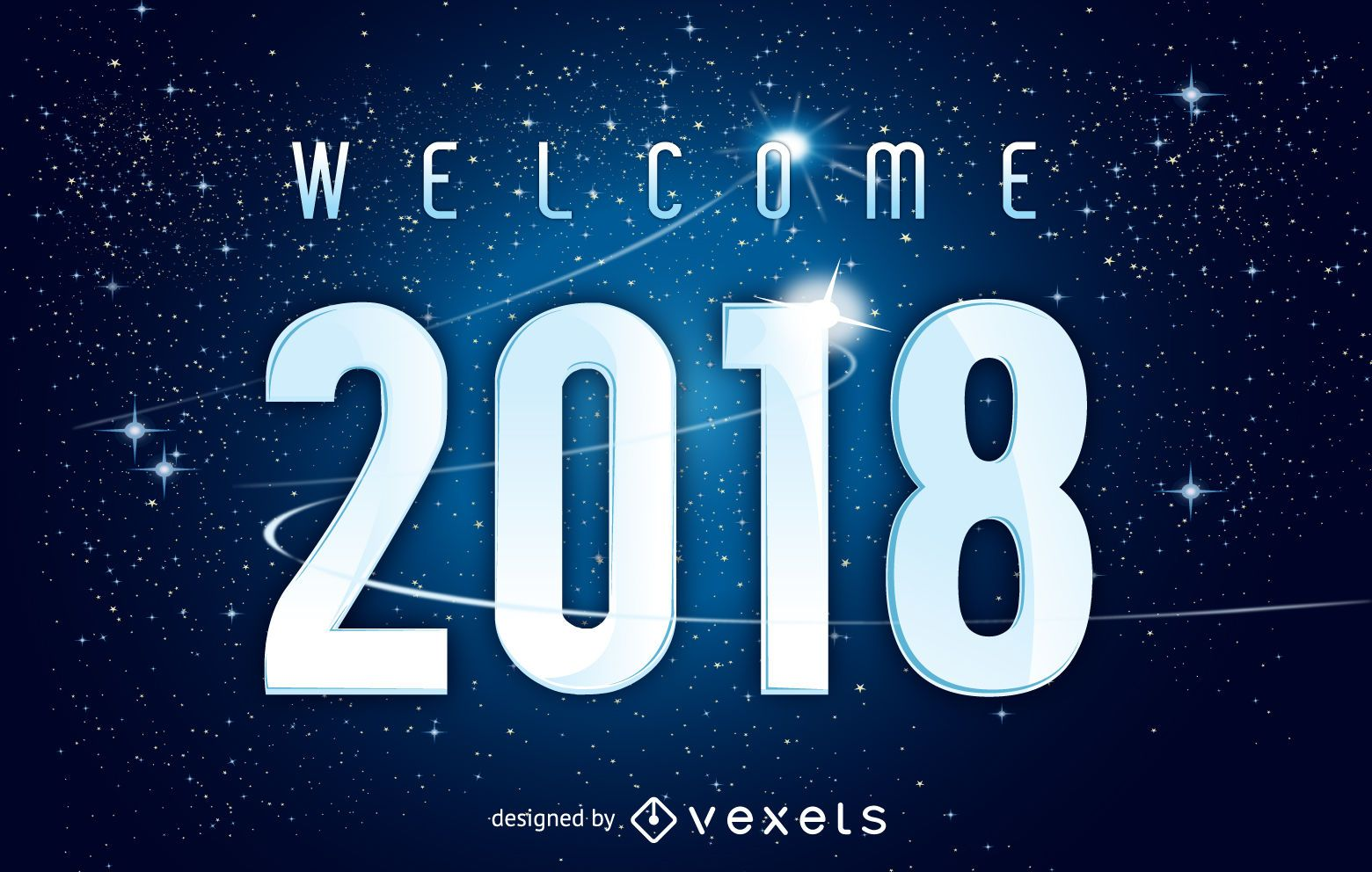 Universe welcome 2018 poster