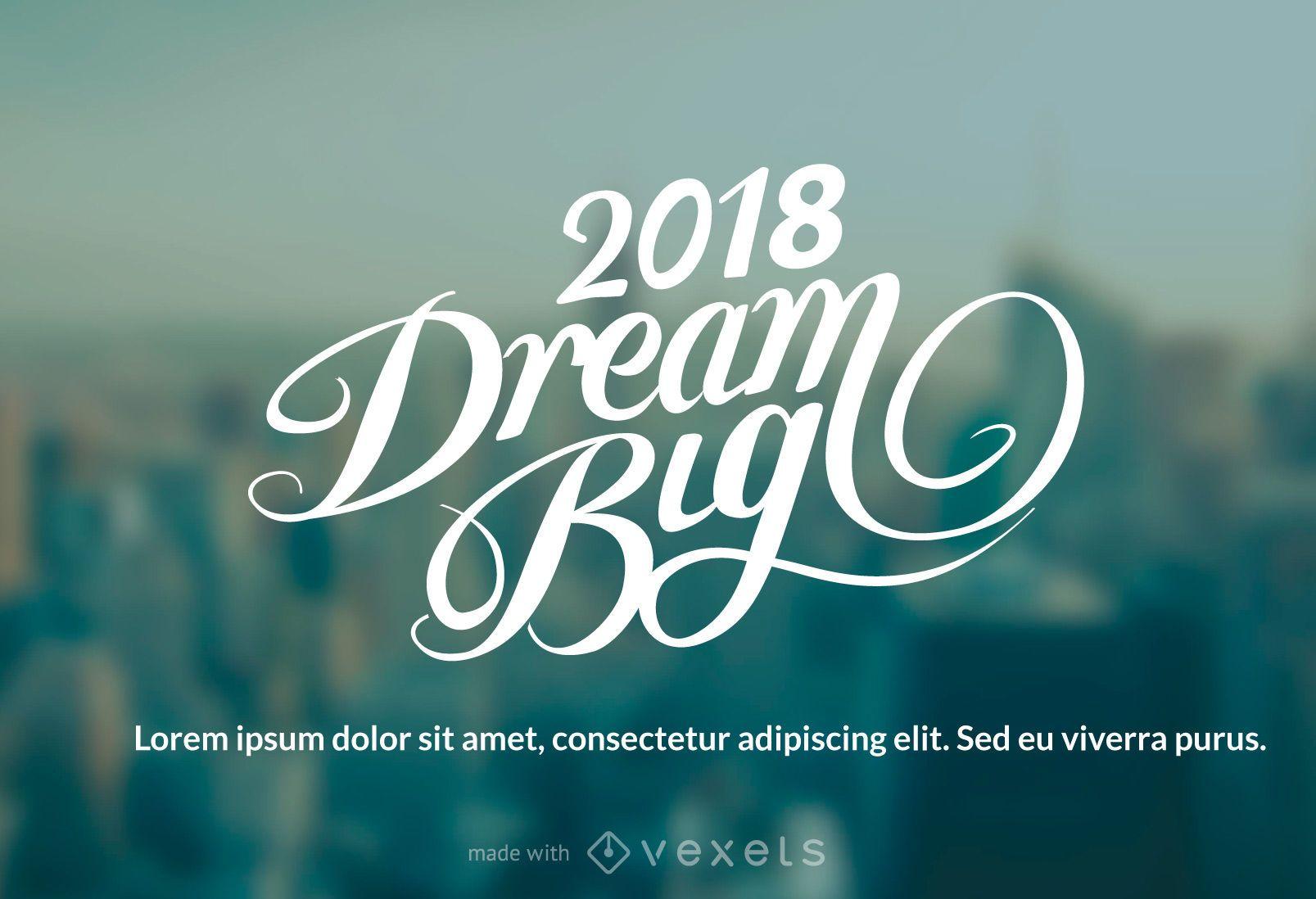 2018 Neujahr wünscht Hersteller