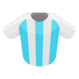 Argentina football shirt icon