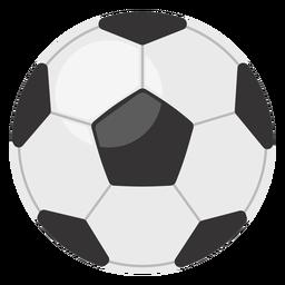 Ícone clássico da bola de futebol