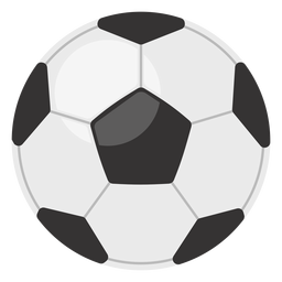 Classic football ball icon