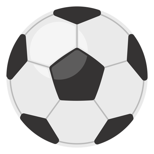 Classic football ball icon Transparent PNG