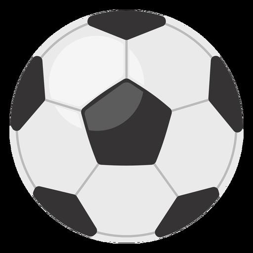 Icono de pelota de fútbol clásico