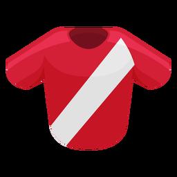 Icono de camiseta de fútbol de costa rica