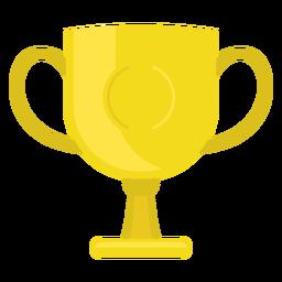 Ícone do copo do campeonato de futebol