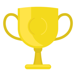 Football championship cup icon