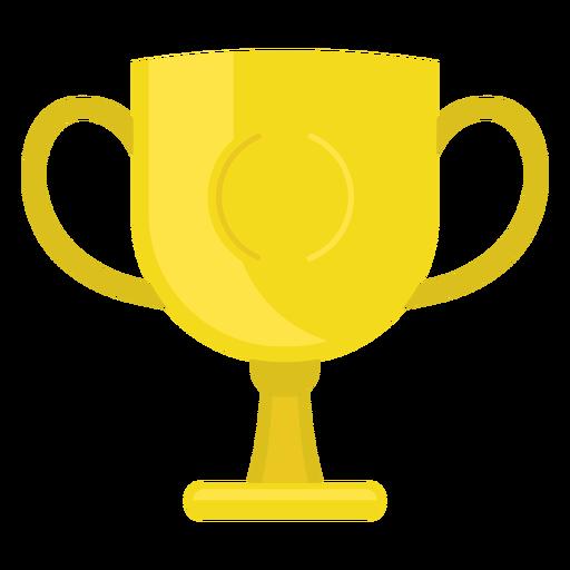 Icono de la copa del campeonato de futbol Transparent PNG