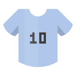 Football shirt number 10 icon