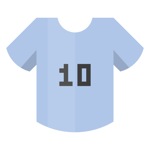 Football shirt number 10 icon Transparent PNG