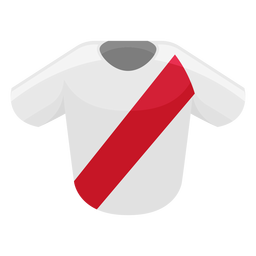 Peru football shirt icon
