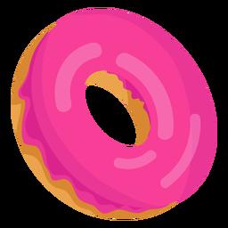 Ilustração de donut de morango