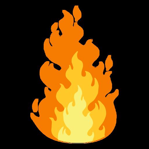 Clipart de fuego Transparent PNG