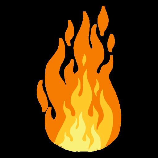 Fuego llama clipart