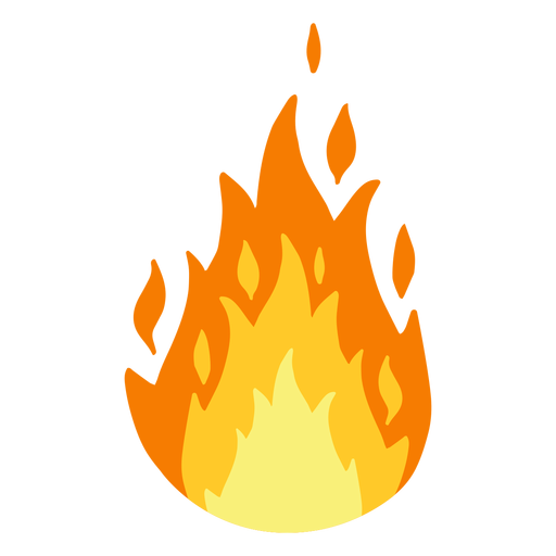 Flame clipart Transparent PNG