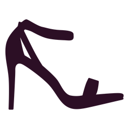 Sapato de mulher de salto alto