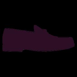 Man eleganter Schuh