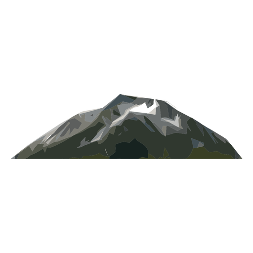 Mount peak Transparent PNG