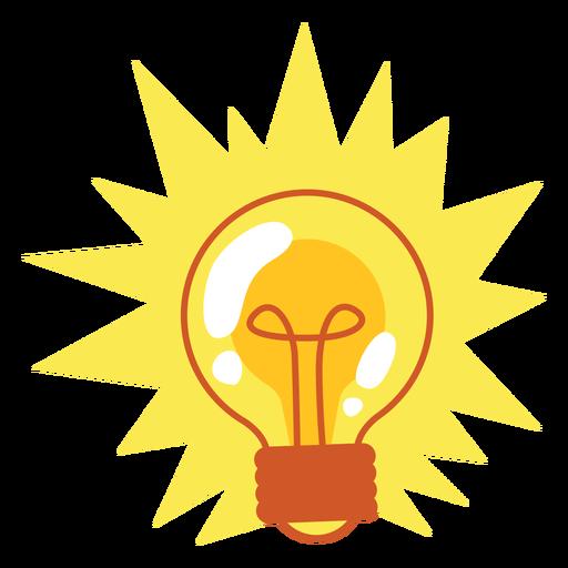 Bombilla de luz brillante Transparent PNG