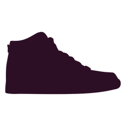 Zapatilla deportiva icono de zapato