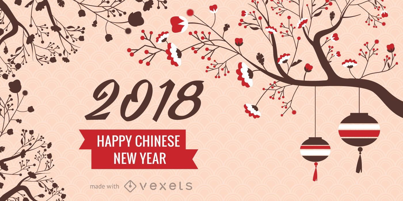 2018 chinese new year maker download large image 1400x700px
