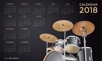 Calendário de música 2018