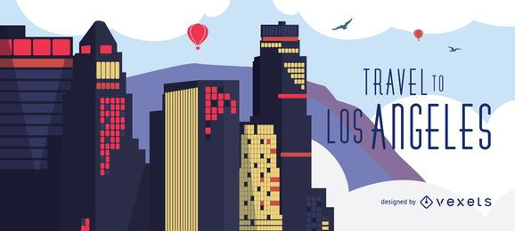 Viagem ao horizonte de Los Angeles