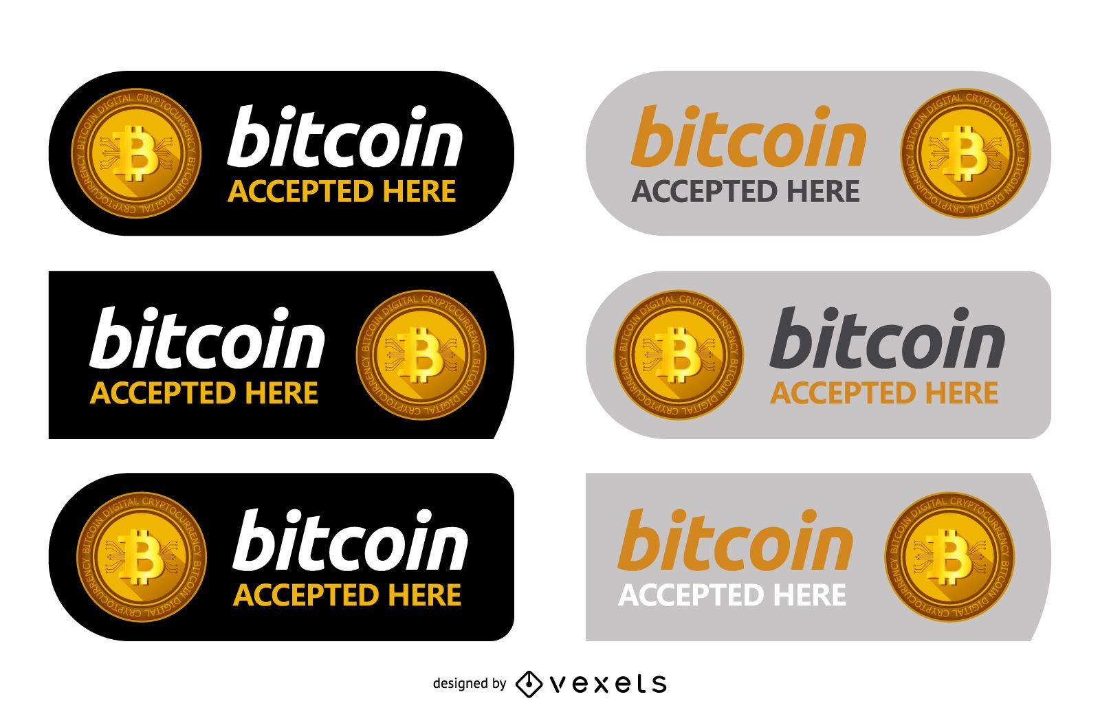 Bitcoin label set