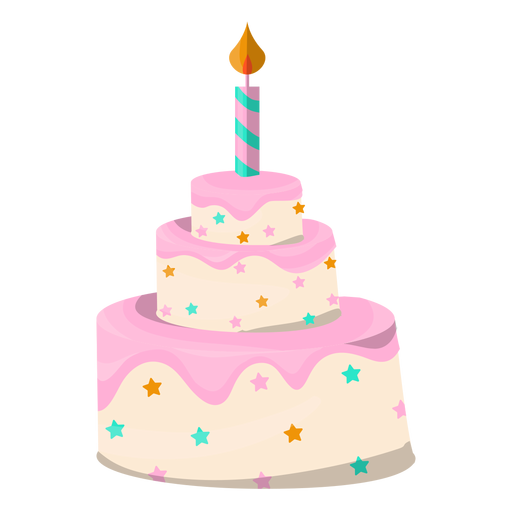 Grey two floors birthday cake icon Transparent PNG SVG vector
