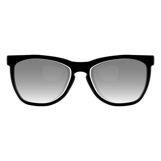 Black wayfarer sunglasses Transparent PNG